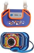 Vtech 80-163594 'KidiZoom Touch 5.0' Kinderkamera blau inkl. Tragetasche blau, ab 5 Jahren