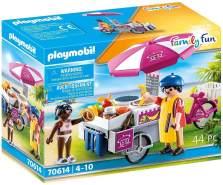 Playmobil Family-Fun 70614 'Mobiler Crêpes-Verkauf', 44 Teile, ab 4 Jahren