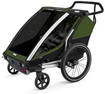 Thule 'Chariot' Fahrradanhänger Set + Thule Babysitz Cab