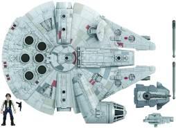 Hasbro - E93435L0 Star Wars - Mission Fleet Deluxe Vehicle Falcon