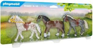 Playmobil Country 70683 '3 Pferde', 12 Teile, ab 4 Jahren