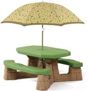 Sitzgruppe, Picknicktisch grün