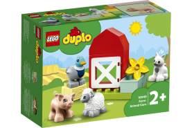 LEGO® DUPLO 10949 'Tierpflege auf dem Bauernhof', 11 Teile, ab 2 Jahren