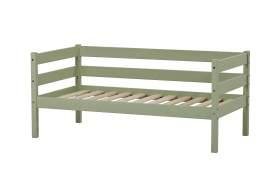 Hoppekids 'Ida-Marie' Einzelbett, pale green, Kiefer massiv, inkl. Rolllattenrost, 70x160cm, nachhaltig
