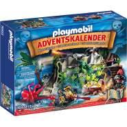 PLAYMOBIL 70322 Adventskalender 2020 'Schatzsuche in der Piratenbucht' mit 120 Teilen und vielen tollen Überraschungen