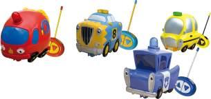 IMC SOFT R/C Cars, 4fach sortiert, 1 Stück, zufällige Auswahl, keine Vorauswahl möglich