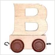 Bino Buchstaben Geburtstagszug - Anhänger B