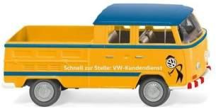 Wiking H0 VW T2 Doppelkabine VW Kundendienst