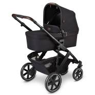 ABC Design 'Salsa 4' Kombikinderwagen 3 in 1 Set S midnight inkl. Babyschale smaragd, Regenschutz und Adapter