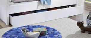 Relita Bettkasten für Luka Etagenbett und Einzelbett 90x200 cm Weiß
