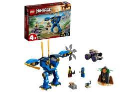 LEGO® Ninjago 71740 'Jays Elektro Mech', 106 Teile, ab 4 Jahren