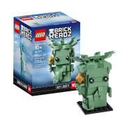 LEGO BrickHeadz 40367 'Freiheitsstatue', 153 Teile, ab 10 Jahren