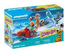 PLAYMOBIL SCOOBY-DOO! 70706 'Abenteuer mit Snow Ghost', 46 Teile, ab 5 Jahren