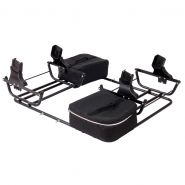 Adapter Zwillingswagen für Maxi Cosi, Cybex & Kiddy Babyschalen
