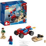 LEGO Marvel Spiderman 76172 'Das Duell von Spider-Man und Sandman', 45 Teile, ab 4 Jahren