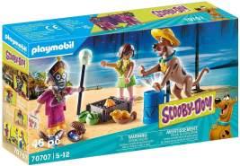 Playmobil SCOOBY-DOO! 70707 'Abenteuer mit Witch Doctor', 46 Teile, ab 5 Jahren