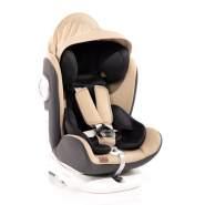 Lorelli Kindersitz Lusso, SPS, Isofix, Gruppe 0+/1/2/3, (0-36 kg) beige-schwarz