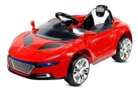 Kidcars 'Kinder Elektroauto inkl. MP3, Fernbedienung, Musik' Kinderfahrzeug, 106 x 62 x 42 cm, ab 3 Jahren, rot