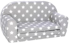 Knorr Toys Kindersofa 'Stars white'