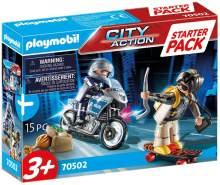 Playmobil City Action 70502 'Starter Pack Polizei Ergänzungssset', 15 Teile, ab 3 Jahren