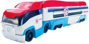 Spin Master 6024966 Paw Patrol 'Paw Patroller', Einsatzfahrzeug mit Sound, Ryder Spielfigur inkl. Fahrzeug und Sticker