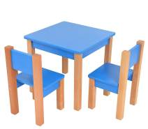 Mobi Furniture Kindersitzgruppe Buche blau