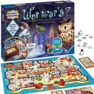 Ravensburger 'Wer war's' Brettspiel, ab 6 Jahren, 2 - 4 Spieler, ca. 30 -45 min Spielzeit, Kinderspiel des Jahres 2008