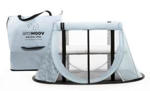 AeroMoov 'Instant' Reisebett hellblau
