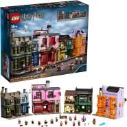 LEGO Harry Potter 75978 'Winkelgasse', 5544 Teile, ab 16 Jahren, eindrucksvolles Modell, mehr als einen Meter breit
