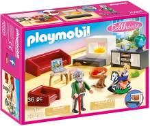 Playmobil Dollhouse 70207 'Gemütliches Wohnzimmer', 36 Teile, ab 4 Jahren