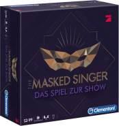 Clementoni 'The Masked Singer', Familienspiel für 3+ Spieler, unterhaltsames Partyspiel, Kartenspiel zur TV-Sendung, ab 12 Jahren