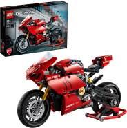 LEGO Technic 42107 'Ducati Panigale V4 R', 646 Teile, ab 10 Jahren, mit einem Getriebe ausgestattet