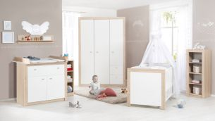 Roba 'Leni 2' 3-tlg. Babyzimmer-Set Schrank 2-türig