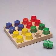 NIC - Holzspielzeug 2121 - Steckbrett, klein