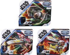 Hasbro | SW Mission Fleet Stellar Class, sort. | E93425L0 - 1 Set, zufällige Auswahl, keine Vorauswahl möglich
