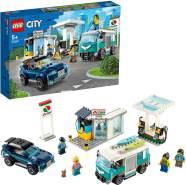 LEGO City 60257 'Tankstelle', 354 Teile, ab 5 Jahren, vergnügliches Bauerlebnis