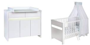 Schardt 'Planet White' 2-tlg. Babyzimmer-Set