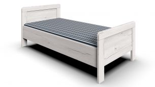 Wimex 'Nadja' Bett weißeiche, 90x200 cm