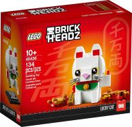 Lego BrickHeadz 40436 'Glückskatze', 134 Teile, ab 10 Jahren