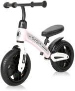 Lorelli Laufrad Scout 10 Zoll Lufträder verstellbarer Lenker, Anti-Rutsch-Griffe rosa