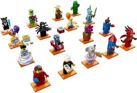 LEGO Minifiguren 71021 'Serie 18: Party', 7 Teile, ab 5 Jahren, 1x Figur, zufällige Auswahl
