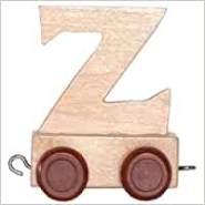 Bino Buchstaben - Geburtstagszug Anhänger Z
