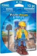 Playmobil Playmo-Friends 70560 'Bauarbeiter', 10 Teile, ab 4 Jahren