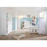 Schardt 'Maximo White' 3-tlg. Babyzimmer-Set weiß Schrank 2-türig