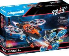 Playmobil Galaxy Police 70023 'Galaxy Pirates-Heli', 74 Teile, ab 5 Jahren
