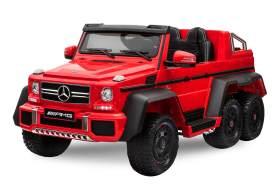 Kidcars 'Mercedes Elektroauto G63 XXL 2019' für Kinder und Erwachsene, 6x Motor, rot