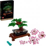 LEGO Creator Expert 10281 'Bonsai Baum', 878 Teile, ab 18 Jahren, inkl. klassischen grünen Blättern und rosafarbenen Kirschblüten