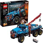 LEGO Technic 42070 'Allrad-Abschleppwagen', 1862 Teile, ab 11 Jahren, mit Fernbedienung, lässt sich in Forschungsfahrzeug umbauen