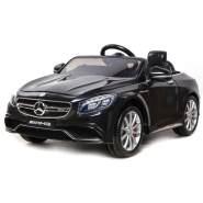 Toys Store - Kinder Elektroauto Mercedes Benz AMG S63 2x35W 12V 2.4G Fernbedienung, schwarz