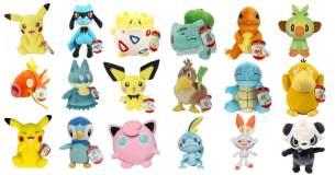 Pokemon 'Plüsch-Figuren' 20 cm, sortiert - 1 Stück, Modellauswahl erfolgt zufällig